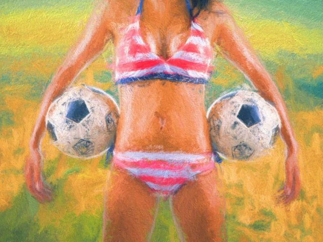 Soccer Fan – Girl