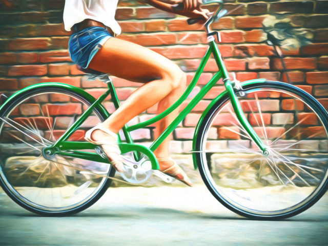 Ride My Green Bicycle
