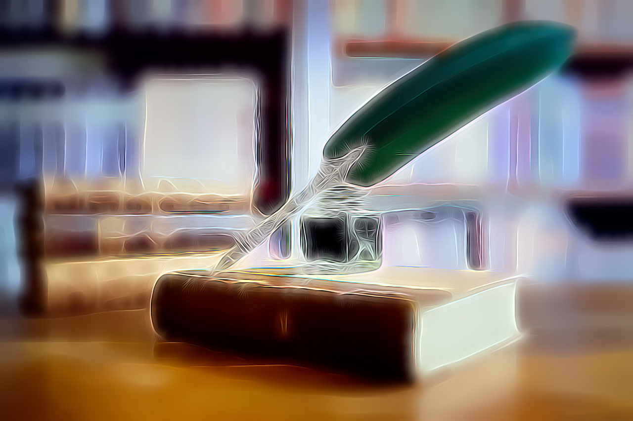 Book and Quill - Writing Poetry